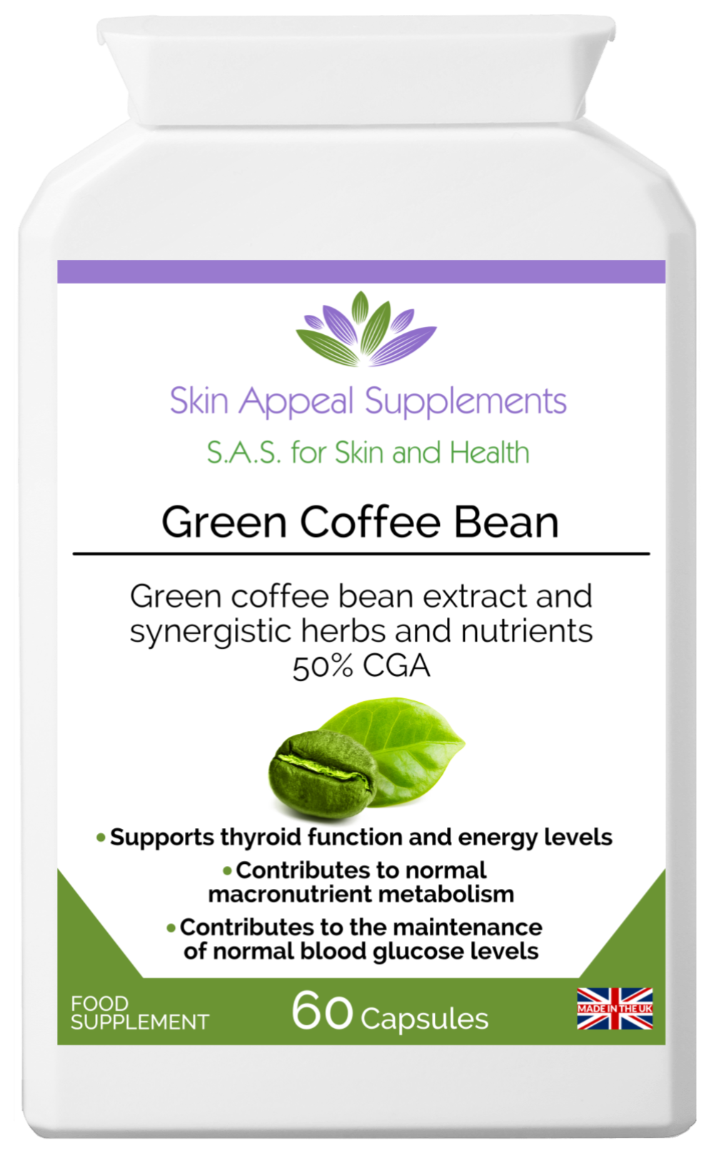 Green Coffee Bean Skin Appeal Supplements